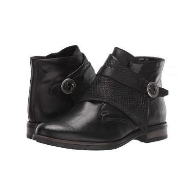 Miz Mooz ミズムーズ レディース 女性用 シューズ 靴 ブーツ アンクル ショートブーツ Talbot - Black