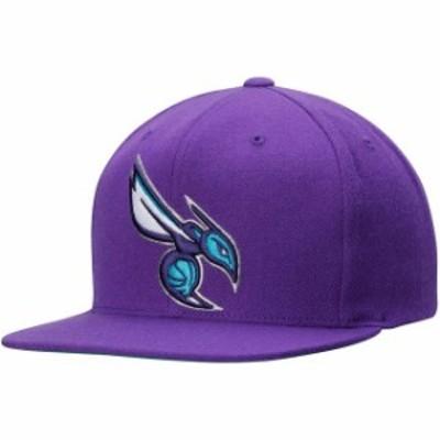 Mitchell & Ness ミッチェル アンド ネス スポーツ用品  Mitchell & Ness Charlotte Hornets Purple Current Logo Wool