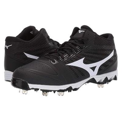 ミズノ 9-Spike Ambition Mid メンズ スニーカー 靴 シューズ Black/White