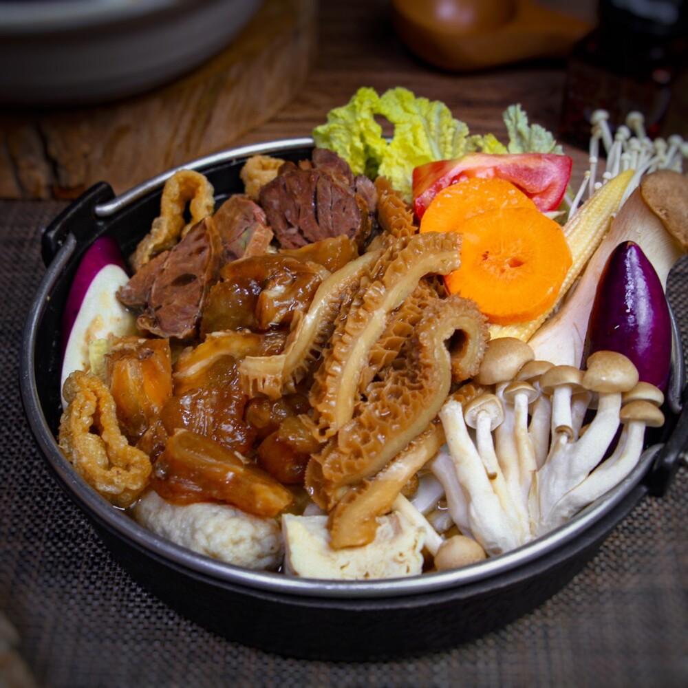 滷台味牛三寶鍋物 (2人份)