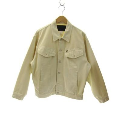 CALEE デニムジャケット アイボリー サイズ:L (三宮店) 200716