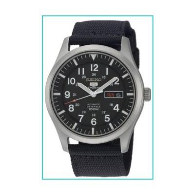Seiko Men's SNZG15 Seiko 5 Automatic Stainless Steel Watch with Nylon Strap【並行輸入品】