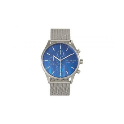 Skagen スカーゲン メンズ 男性用 腕時計 ウォッチ ファッション時計 Holst Multi-Function Watch - SKW6652 Silver/Blue