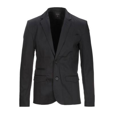 ゲス GUESS テーラードジャケット ブラック M コットン 98% / ポリウレタン 2% テーラードジャケット