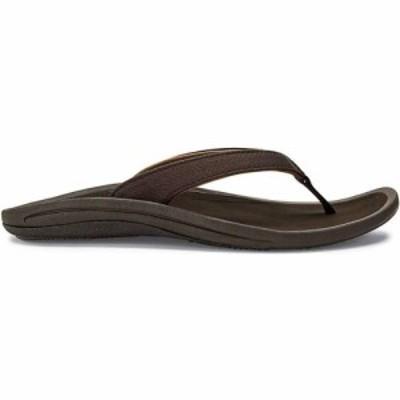 オルカイ OluKai レディース サンダル・ミュール シューズ・靴 Kulapa Kai Sandal Dark Java/Dark Wood