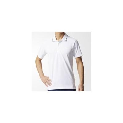 [adidas]アディダスメンズESSENTIALS ストライプ ポロシャツ(DJP79)(BR1017)ホワイト