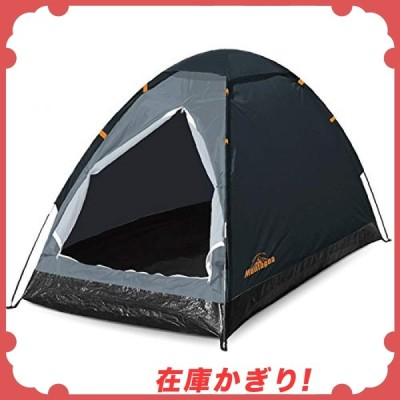 ハック 組立式 1人用 ドームテント 一人用 テント 組み立て簡単 コンパクト 収納袋付き アウトドア キャンプ ブ