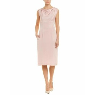 Oscar de la Renta オスカーデラレンタ ファッション ドレス Oscar De La Renta Silk Sheath Dress