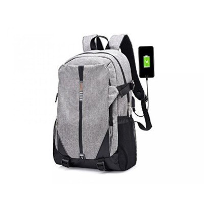 全国送料無料 パソコン ストレージ Ideapro 未来テック バックパック パッド電子収納ポケット (灰色-2)