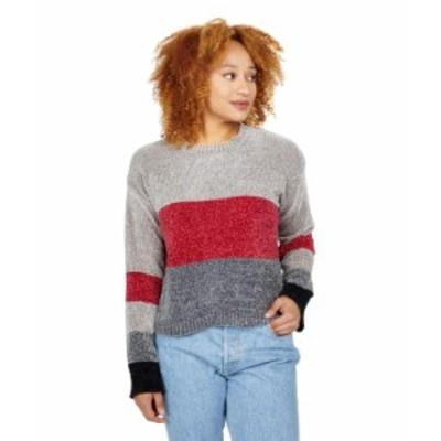 ボルコム レディース ニット・セーター アウター Bubble Tea Sweater Charcoal