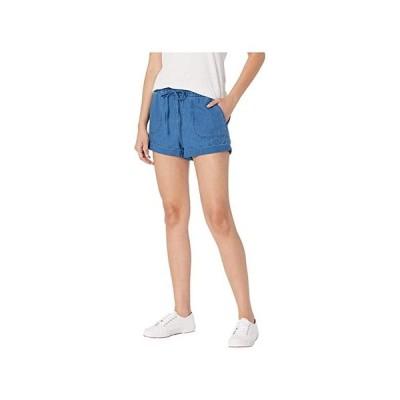 ボルコム Sunday Strut Shorts レディース ショートパンツ ズボン 半ズボン Air Force Blue