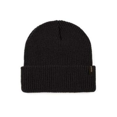 ブリクストン BRIXTON ブリクストン HEIST BEANIE BLACK ニット帽