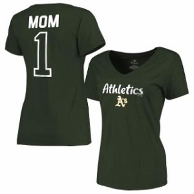 Fanatics Branded ファナティクス ブランド スポーツ用品  Fanatics Branded Oakland Athletics Womens Green Plus Siz