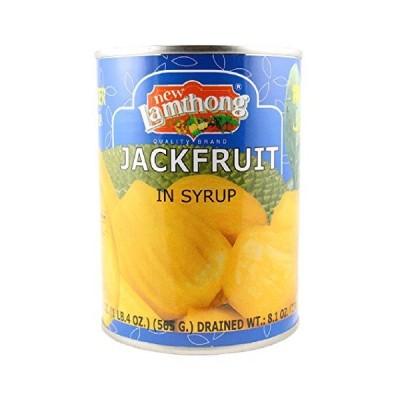 New Lamthong/ジャックフルーツシロップ漬/Jackfruit in Syrup 565g(固形量:230g)