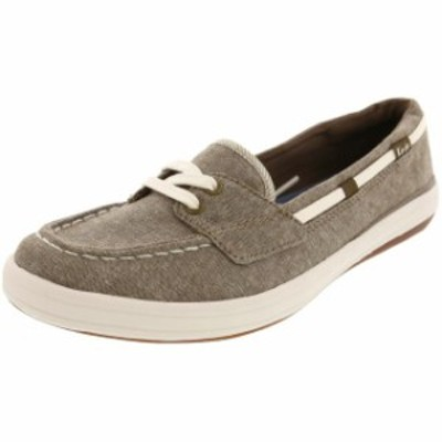 Keds ケッズ スポーツ用品 シューズ Keds Womens Glimmer Chambray Fabric Athletic Boating Shoe