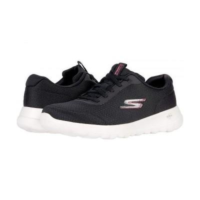 SKECHERS Performance スケッチャーズ レディース 女性用 シューズ 靴 スニーカー 運動靴 Go Walk Joy - Ecstatic - Black/White