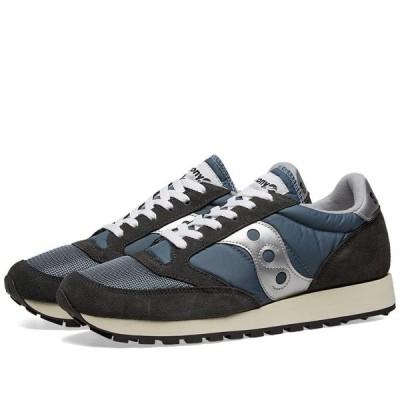 サッカニー Saucony メンズ スニーカー シューズ・靴 Jazz Original Vintage Blue/Navy/Silver