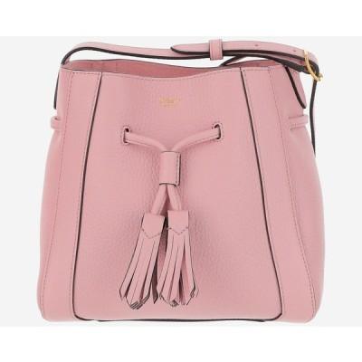 MULBERRY /マルベリー ピンクレザーミリーバケットバッグ