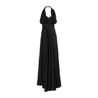 MISS YOU ロングワンピース&ドレス ブラック 44 ポリエステル 100% ロングワンピース&ドレス