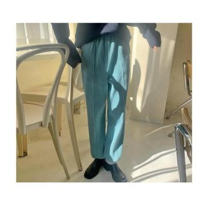 レディース パンツ Joyful waffle jogger pants
