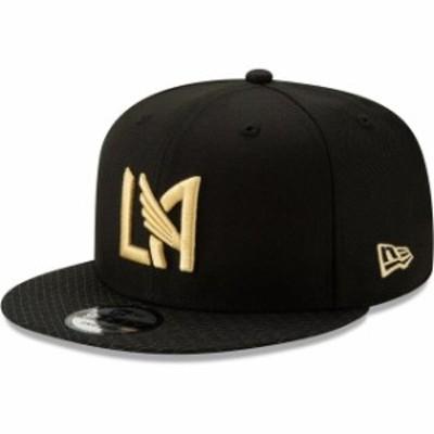 New Era ニュー エラ スポーツ用品  New Era LAFC Black Jersey Hook 9FIFTY Adjustable Snapback Hat