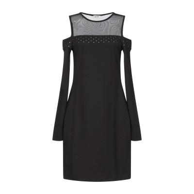 リュー ジョー LIU •JO ミニワンピース&ドレス ブラック XS ポリエステル 95% / ポリウレタン 5% ミニワンピース&ドレス
