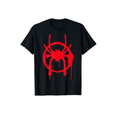 Marvel Spider-Man Spiderverse Miles Symbol Tag T-Shirt T-Shirt