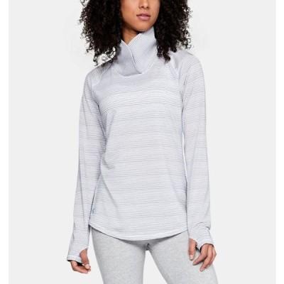 アンダーアーマー レディース ロンT Under Armour Zinger W Golf Long Sleeve Shirt Tシャツ 長袖 True Gray Heather/Steel
