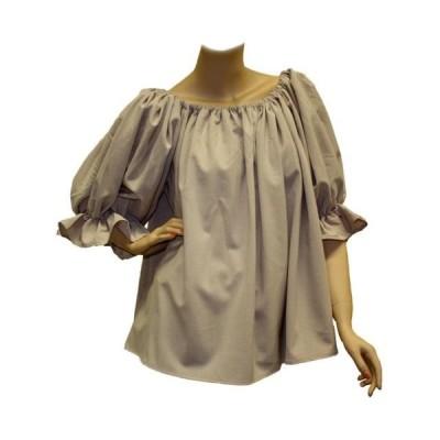 ユニセックス 衣類 トップス Adult Ladies Renaissance Peasant Blouse Renn Faire Ren Fair ブラウス&シャツ