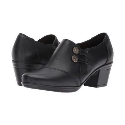Clarks クラークス レディース 女性用 シューズ 靴 ヒール Emslie Warren - Black Leather