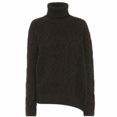 ロロピアーナ Loro Piana レディース ニット・セーター トップス Dolcevita Finsbury cashmere sweater Brown