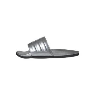 アディダス レディース ヒール シューズ Pool slides - silver silver