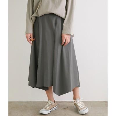 【ロペピクニック/ROPE' PICNIC】 【WEB限定カラーあり】【セットアップ対応】アセテート混ドライタッチイレギュラーヘムスカート