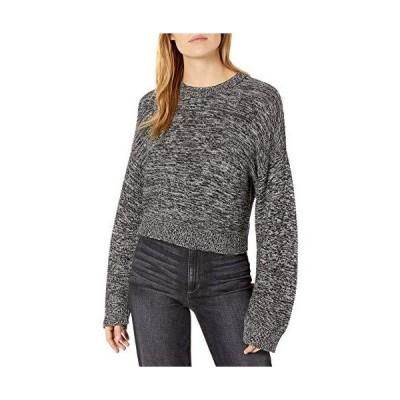 BCBGeneration レディース 長袖 プルオーバー セーター US サイズ: Large カラー: ブラック並行輸入品 送料無料