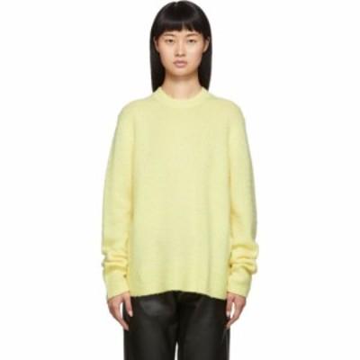 アクネ ストゥディオズ Acne Studios レディース ニット・セーター トップス Yellow Peele Sweater Pale yellow