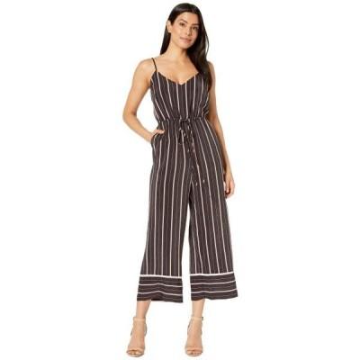 ヴィンスカムート ユニセックス ジャケット コート Sleeveless Chic Thin Stripe Cami Jumpsuit
