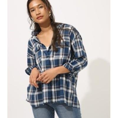 【70%OFF】 マドラスチェックシャツ WOMENSレディース