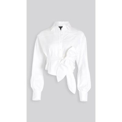 マリッサ ウェッブ Marissa Webb レディース ブラウス・シャツ トップス Emmerson Oxford Shirt White