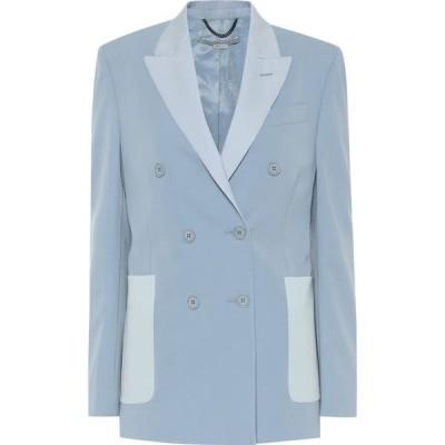 ステラ マッカートニー Stella McCartney レディース スーツ・ジャケット アウター Wool blazer Mineral Blue
