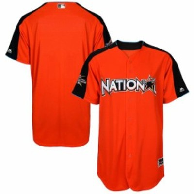 Majestic マジェスティック スポーツ用品  Majestic National League Orange 2017 MLB All-Star Game Authentic On-Field Home Run Derby