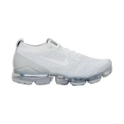 (取寄)ナイキ メンズ エア ヴェイパーマックス フライニット 3 Nike Men's Air Vapormax Flyknit 3 White White Pure Platinum