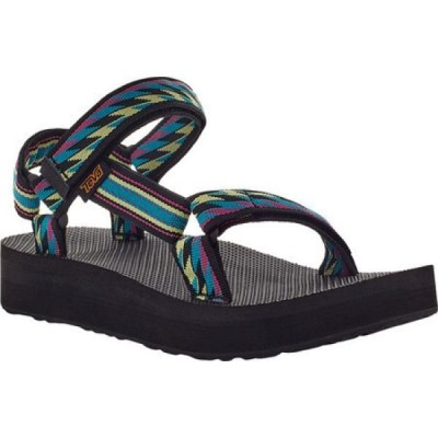 テバ Teva レディース サンダル・ミュール シューズ・靴 Midform Universal Walking Sandal Bolt Retro Recycled Polyester