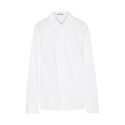マイケル マイケル コース MICHAEL MICHAEL KORS シャツ ホワイト 8 コットン 96% / ポリウレタン 4% シャツ