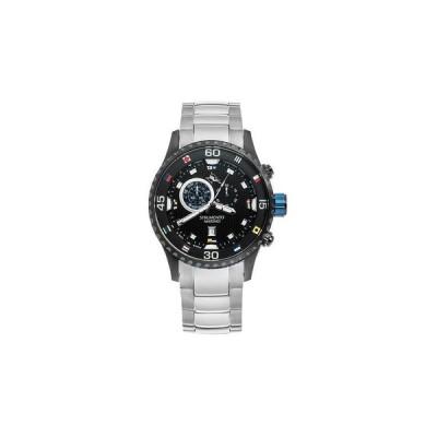 ストルメント マリーノ 腕時計 アクセサリー メンズ Men's Porto Cervo Professional Regatta Stainless Steel Performance Timepiece Watch 47mm Silver