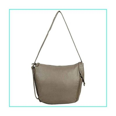 【新品】The Joia Convertible Sack Crossbody Backpack Purse Shoulder Bag Satchel Grey(並行輸入品)