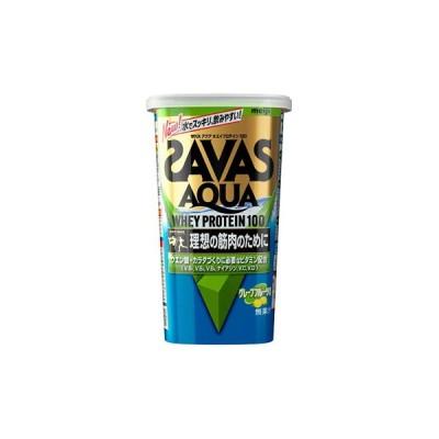 SAVAS(ザバス) アクアホエイプロテイン100 グレープフルーツ風味 14食分