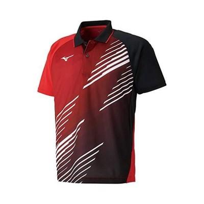 [ミズノ] 卓球ウェア ゲームシャツ 半袖 スタンダード ダイナモーションフィット 吸汗速乾 JTTA 82JA9007 メンズ ?