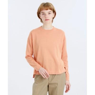 (MACKINTOSH PHILOSOPHY/マッキントッシュ フィロソフィー)GREY LABEL コットンニットTシャツ/レディース オレンジ