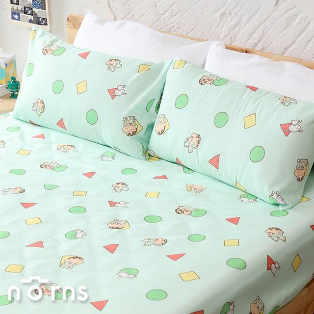 蠟筆小新TENCEL天絲床包組任選 台灣製 Norns 正版授權 寢具 床包 枕套 吸濕排汗