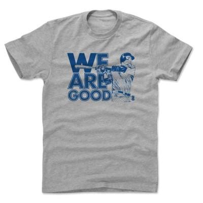 MLB カブス Tシャツ アンソニー・リゾ Mono B T-Shirt 500Level ヘザーグレー